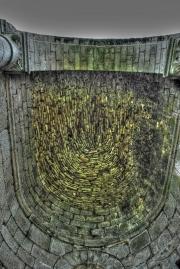 Vue de dessous d'une des absidioles