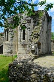 Absidioles de l'église abbatiale