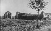 Absidioles de l'église abbatiale et mur Nord de l'abbaye