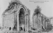 Absidioles de l'église abbatiale de l'abbaye de la Grainetière