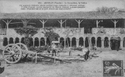 Carte postale de l'abbaye de la Grainetière avant sa restauration