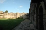 Galeries Ouest, Nord et Est de l'abbaye