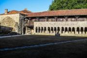 Galerie Ouest et Réfectoire de l'abbaye