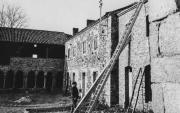 Maison de paysan construite au sein de l'abbaye au cours du 19ème siècle
