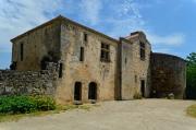 Le quart sud-Est de l'abbaye, lieu de vie des moines