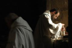 Les moines de l'abbaye