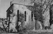 Réfectoire de l'abbaye avant sa restauration