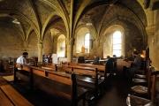 Célébration à la salle capitulaire de l'abbaye