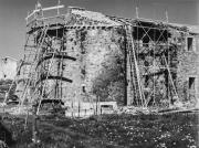 Tour de défense Sud-Est, en cours de restauration
