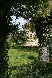 La Tour de l'abbé vue du jardin