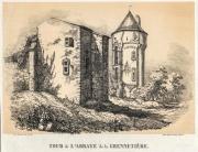Gravure de la Tour de l'Abbé