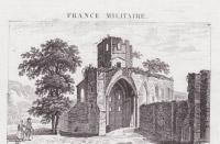 Église abbatiale détruite