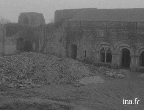 L'abbaye se dévoile en deux vidéos d'archives de 1970 et 1981